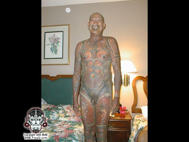 Татуировки У Мужчин В Интимных Местах Фото